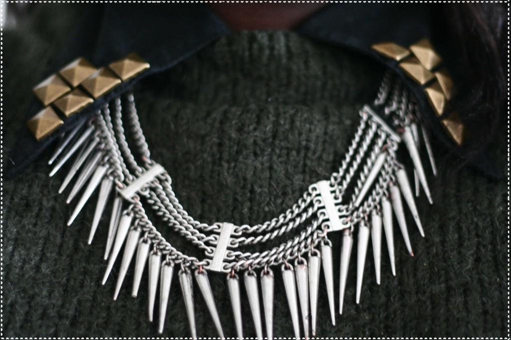collier hm spikes studs clous pics 1024x682 LOOK #2