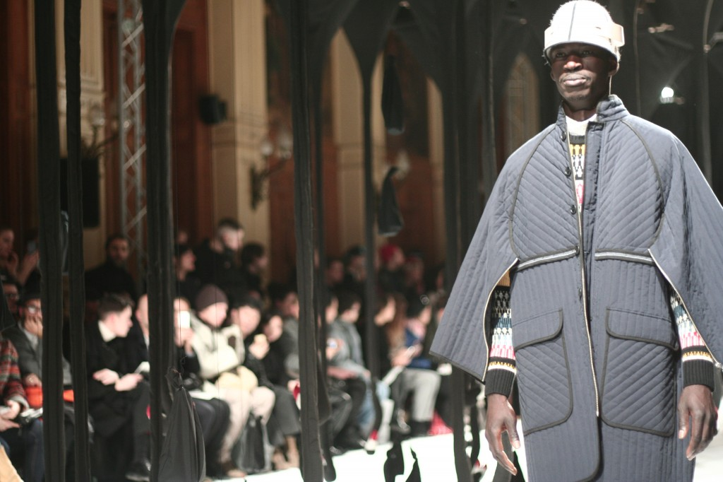 blog mode mannequin hommes henrik vibskov fashionweeek 1024x682 Paris Fashion Week Hommes A/H 2013 2014// Défilé Henrik Vibskov