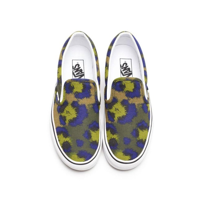kenzo vans jungle fever slippers militaire Kenzo x Vans