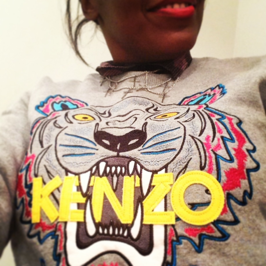 sweat kenzo tiger fever sweat tiger sweatkenzo blog mode Kenzo x Vans